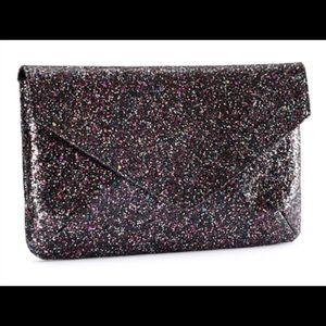 💃😘🌸H&M's Cute envelope glitter clutch.